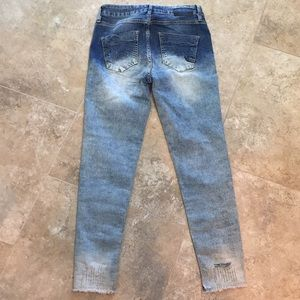Parasuco Jeans - Parasuco High Rise Skinny Jeans Frayed Ankle NWT